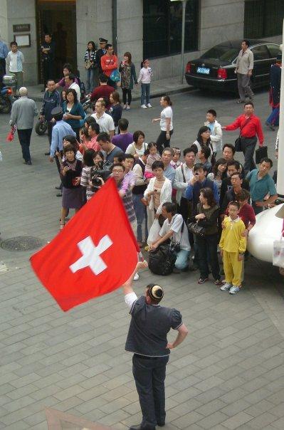 Shanhgai drapeau