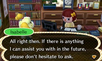 Un café. Et cirer mes chaussures aussi, merci.  Non mais sérieusement Isabelle, détends-toi !