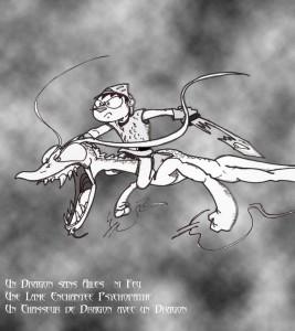 Chasseur et dragon