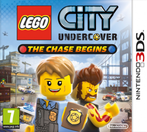 Lego City 3DS Box