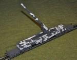 canon rails 280 mm Kanone 5 Schlanke Bertha-10p