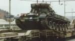 wagon surbaisse 50 t SBB CFF armee suisse-11d