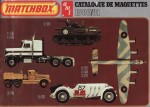 catalogue Matchbox 1980-01