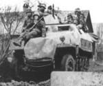 Sdkfz 251 1D Hanomag D-06d