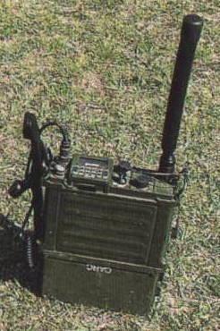 appareil radio AR PRC 117 F armée américaine | Le QG 1/72e de Twist