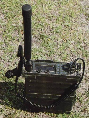 appareil radio AN PRC 117 armée américaine | Le QG 1/72e de Twist Again