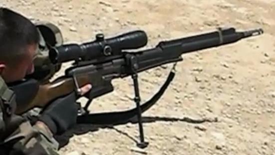 Croissant fusil de précision FR F2 armée française   Le QG 1/72e de Twist Again JD-87